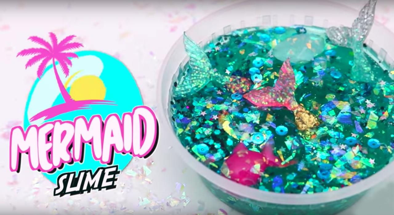 DIY Mermaid Slime