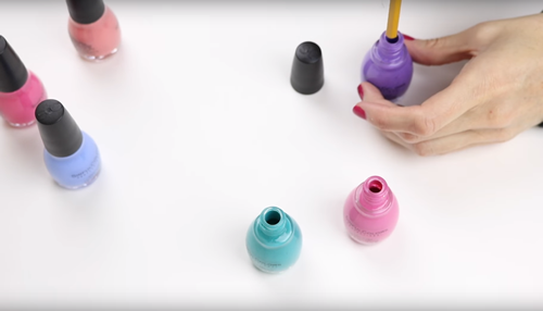 diy nail polish pencils - diy pencil decorations