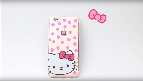 Diy Hello Kitty Phone Case Easy Cute Diy Craft Project