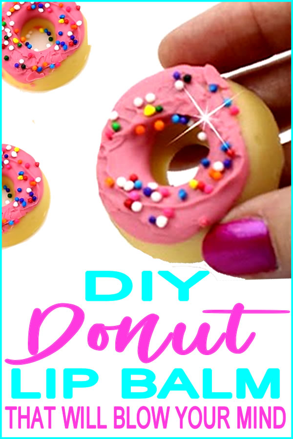 DIY Donut Lip Balm | How To Make Easy Homemade Lip Balm Recipe 🍩