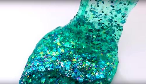 Simple DIY Mermaid Slime