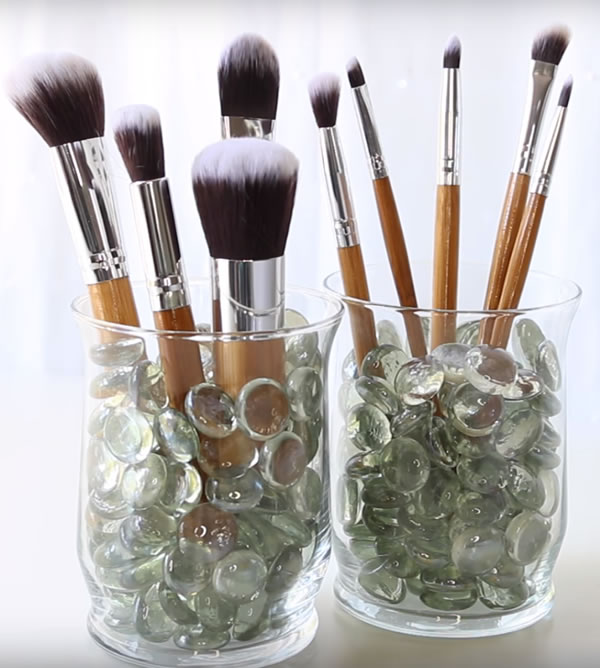 Dollar Store Makeup Organization Hacks
