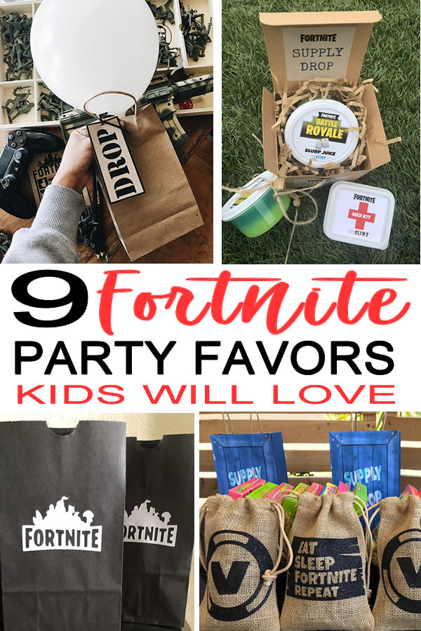 Fortnite Party Favor Ideas