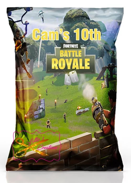 Fortnite snacks_chips party favors