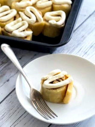 Homemade Keto Cinnamon Rolls_Easy