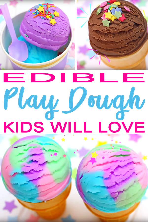 How To Make Edible Playdough_Easy DIY Edible Playdough Recipe No Cook__diy crafts_kids activity