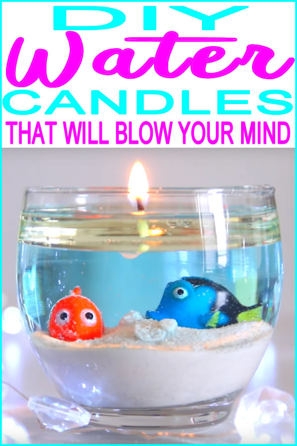 _How To Make Water Candles_DIY Water Candle Project_Easy Craft
