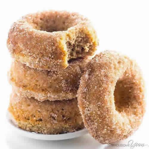 LOW CARB DONUTS RECIPE – ALMOND FLOUR KETO DONUTS- PALEO-GLUTEN FREE