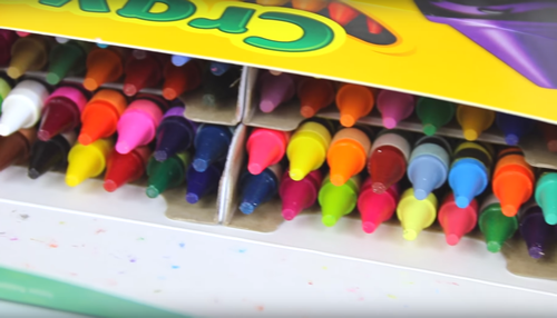 how to make crayon candles