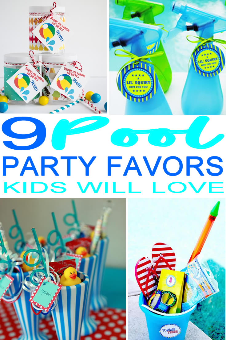 Pool_Party Favor Ideas