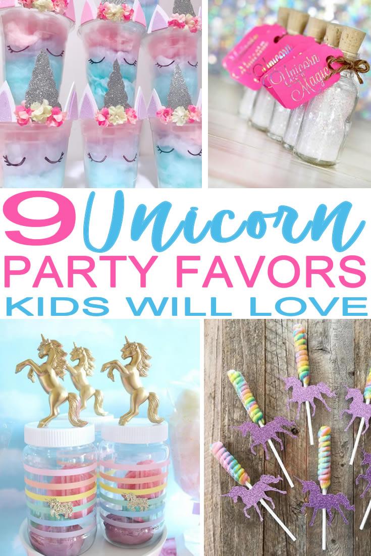 Unicorn Party Favor Ideas