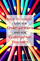 back to school guide for kindergartners & teachers