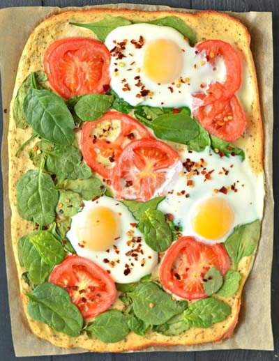 breakfast-pizza-keto- low carb recipe