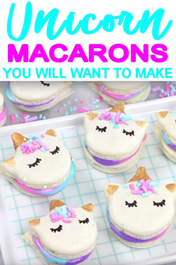 how to make unicorn macarons_diy macarons recipe