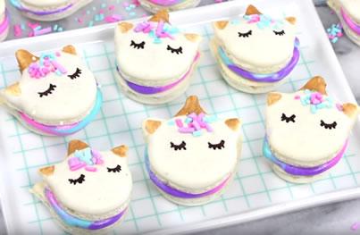 How To Make Unicorn Macarons