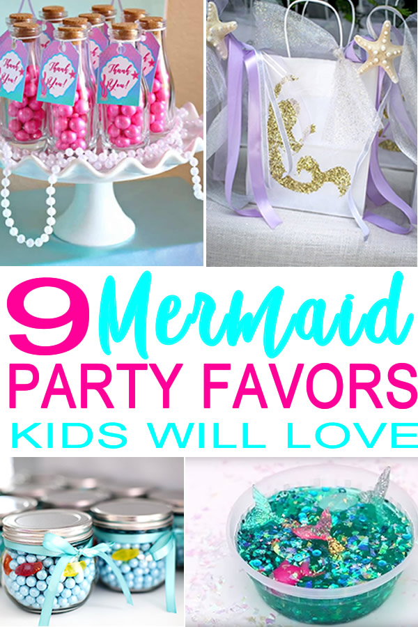 Mermaid Party Favor Ideas