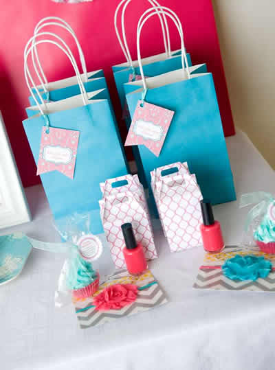 tween sleepover party favors