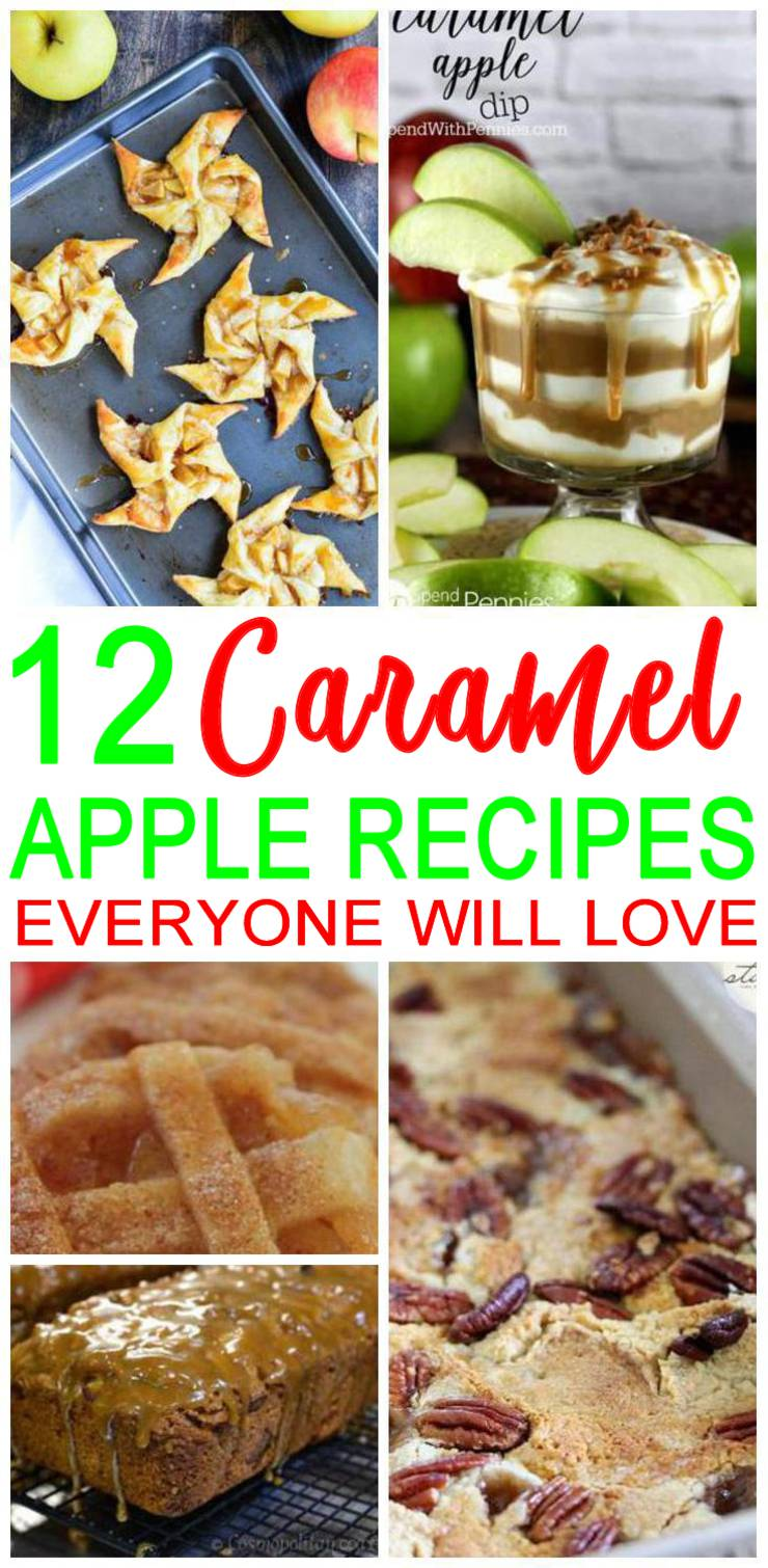 Delicious Caramel Apple Dessert - Simple & Easy Recipes For Fall Treats & Parties Families & Kids Will Love! The BEST caramel apple desserts the whole family will love - kids, tweens, teens & adults. Great caramel apple dessert recipe cream cheese, apple crisp, caramel apple cake recipes, caramel apple dessert bars, apples and caramel dip, caramel apple dessert pizza, apple caramel sauce and caramel apples bars are just a few of the easy and simple recipes you can find. #desserts #partydesserts