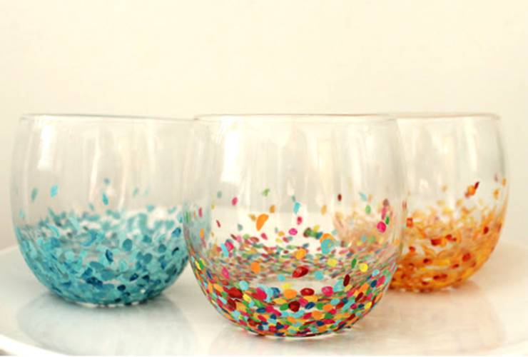 Dollar Store Hacks_Anthropologie Confetti Tumblers
