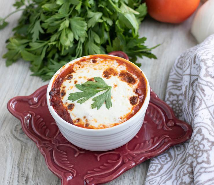 Keto Lasagna Bowls - BEST Low Carb Lasagna Recipe - Easy 5 Ingredient Meal - No Noddle Lasagna