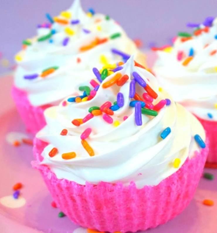 diy cupcake bath bombs - video tutorial