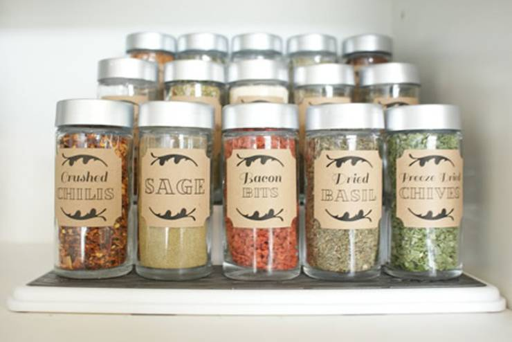 dollar store hack_spice storage_kitchen organization - DIY Dollar Store Hacks   Organization & Storage Ideas - DIY Projects For Home