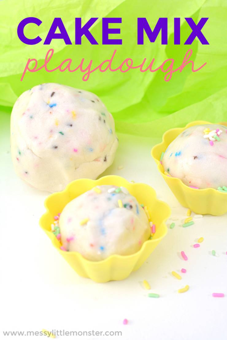 edible cake-mix-playdough-taste-safe-playdough-recipe