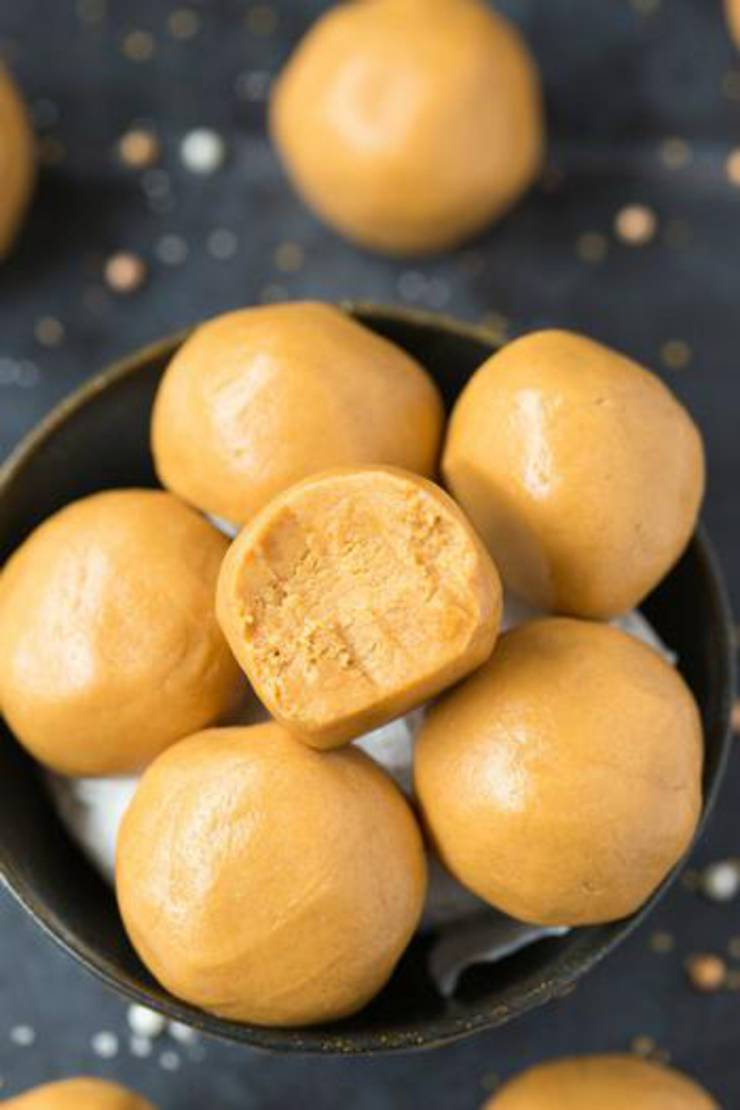 3 Ingredient Keto Peanut Butter Balls