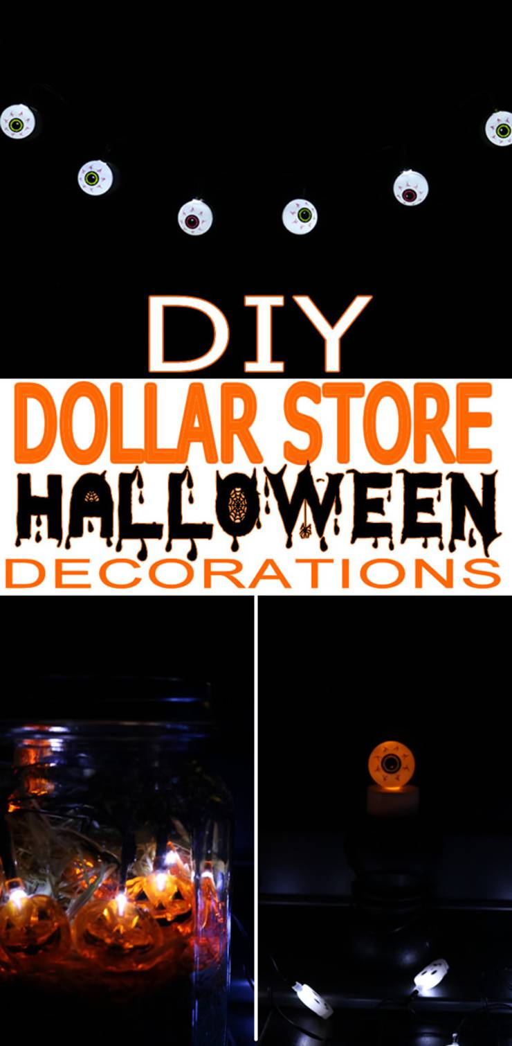 DIY Dollar Store Halloween Decorations