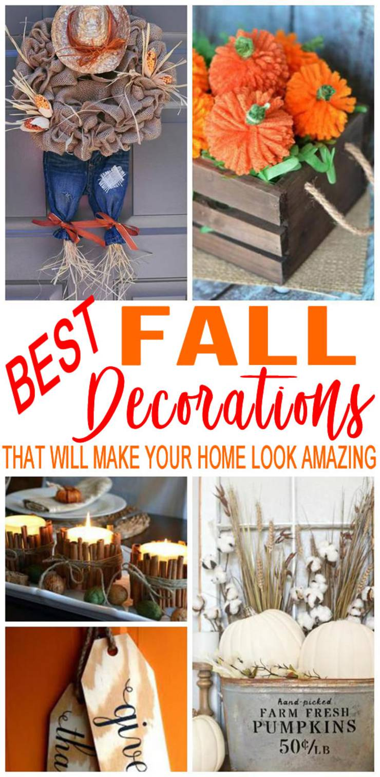 DIY Fall Decorations | Cheap - Easy Outdoor & Home Decor | DIY Fall Craft Ideas
