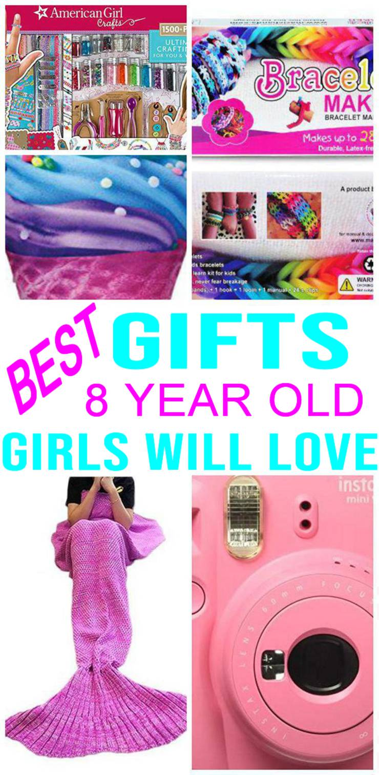 BEST Gifts 8 Year Old Girls Will Love