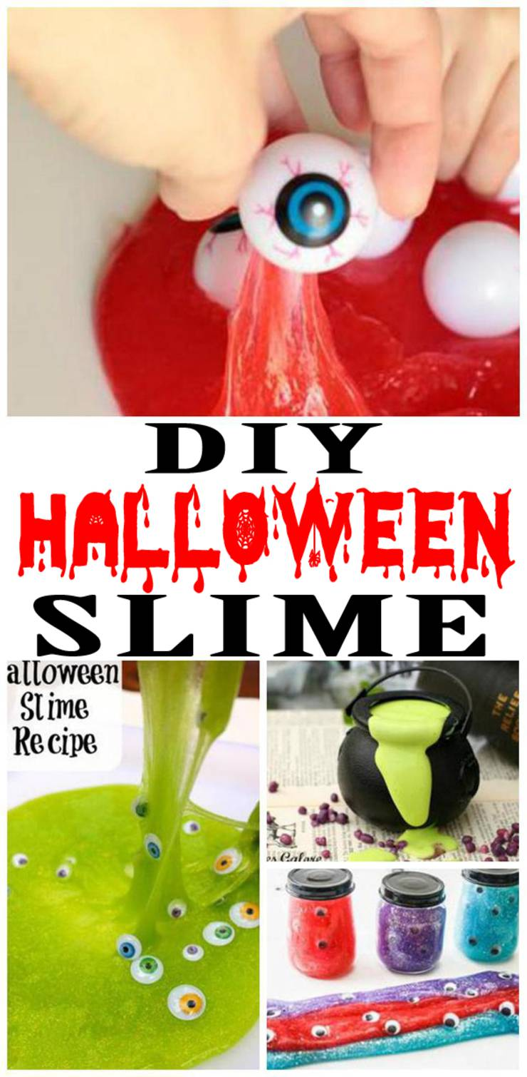 DIY Halloween Slime Recipes – How To Make Homemade Easy Slime Ideas For Kids – Parties – Crafts – Kits & Fun