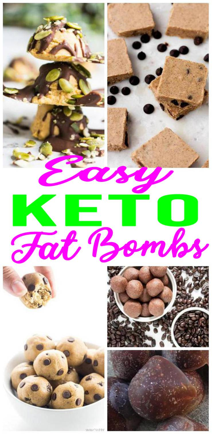 Keto-Fat-Bombs- Easy Keto Recipes