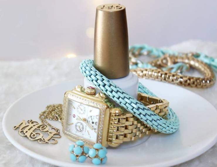 Nail Polish Bottle Jewelry Holder