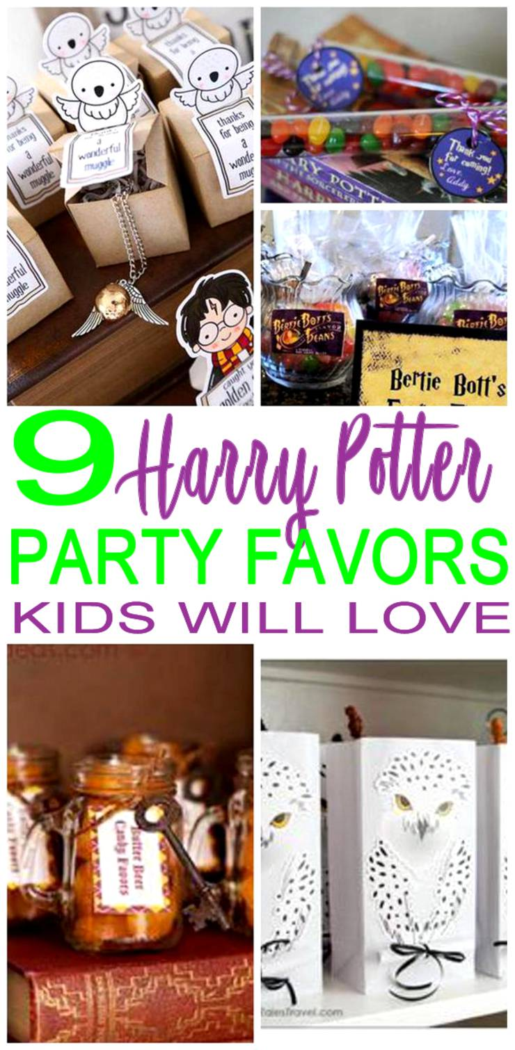 Harry-Potter Party Favors