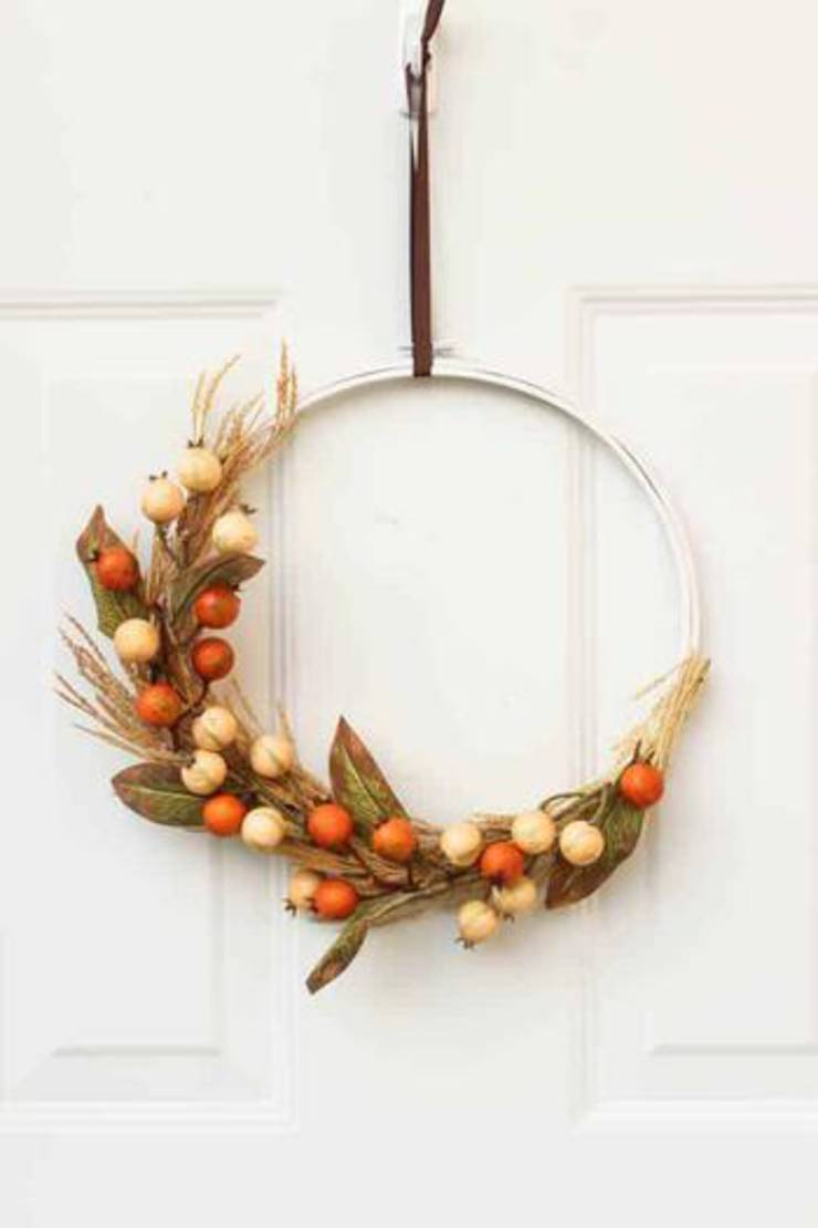 Autumn Hoop Wreath