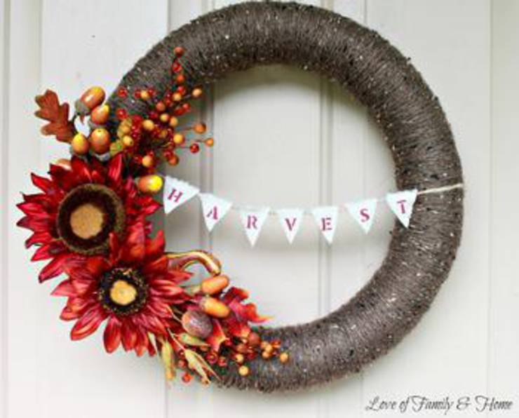 Fall Wreath Diy Craft