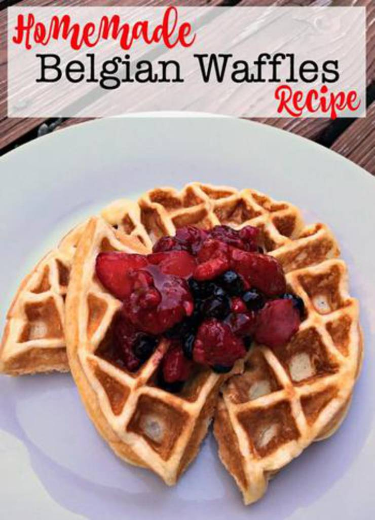 Best Belgian Waffles Easy Recipe Ideas For Homemade