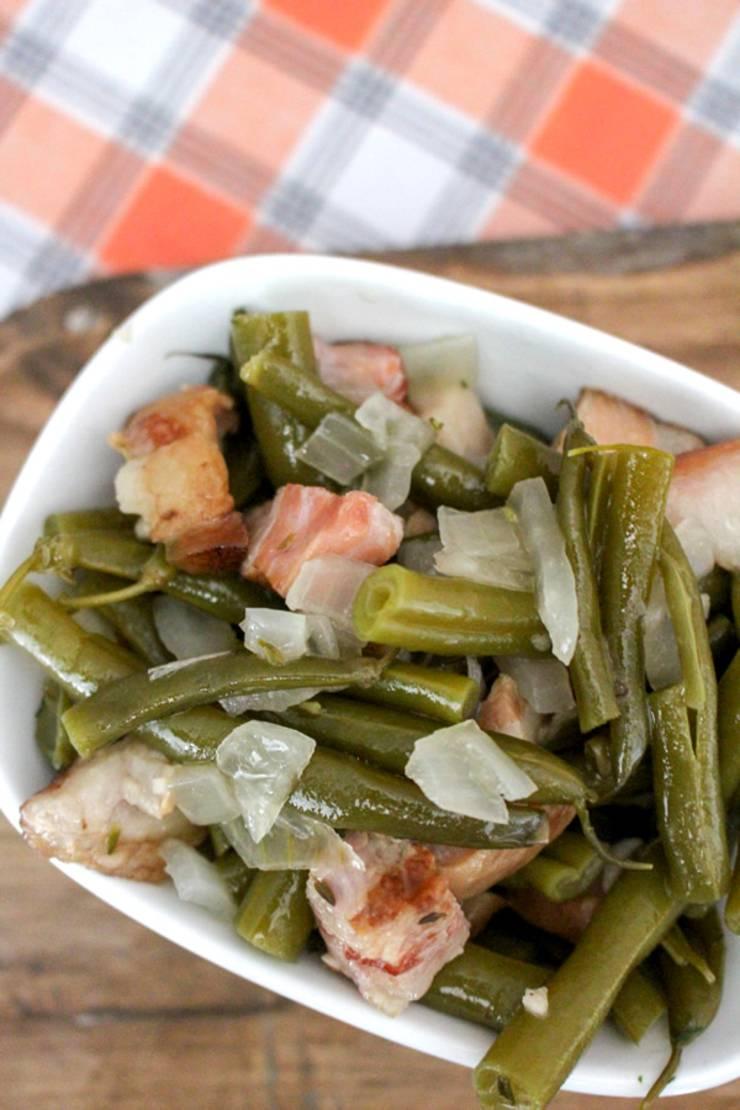 Best Crock Pot Recipe Easy Slow Cooker Green Beans Idea Fresh Simple Veggies Healthy Side Dish