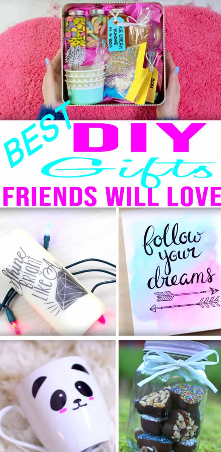 BEST DIY Gifts For Friends EASY CHEAP Gift Ideas To Make Birthdays