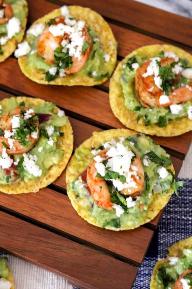 BEST Shrimp Bites Recipe! Easy Appetizer Idea - Quick & Simple Finger Foods - Guacamole & Shrimp Dish - Holidays - Parties - Thanksgiving - Christmas - Friends - Families