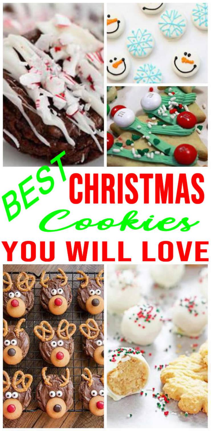 BEST Homemade Christmas Cookies! EASY Christmas Cookie Recipes - For Kids - Families - Friends | Cookie Gift Ideas - Parties - Exchange - Sweet Treats