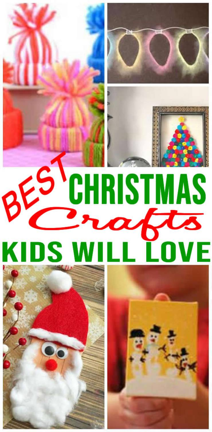 Best Christmas Crafts For Kids Easy To Make Diy Christmas Craft