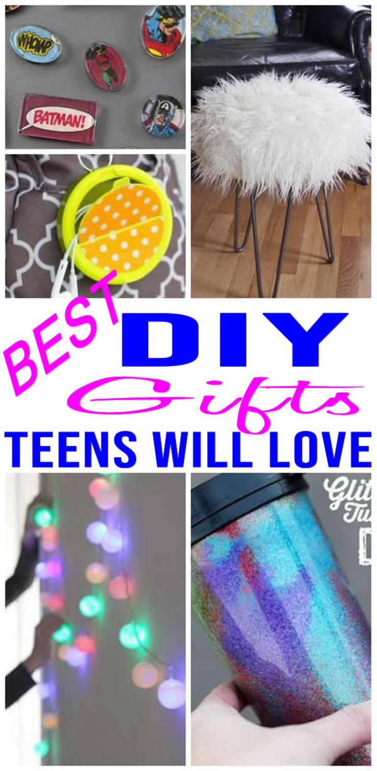 Best Diy Gifts For Teens Tweens Easy Gift Ideas To Make