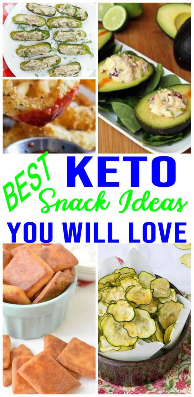 BEST Keto Snacks! EASY Low Carb Snack Ideas