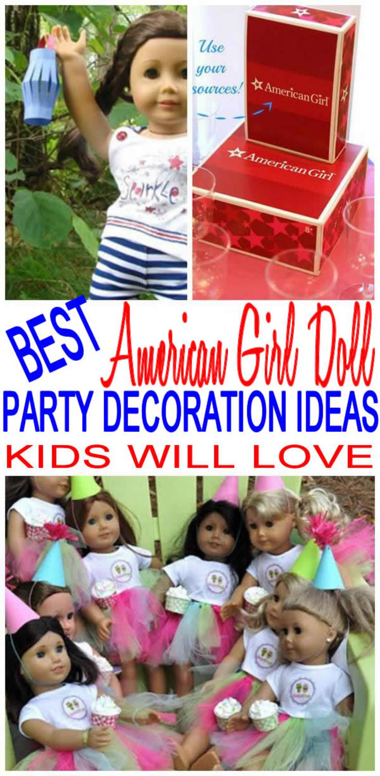 American Girl Party Decorations
