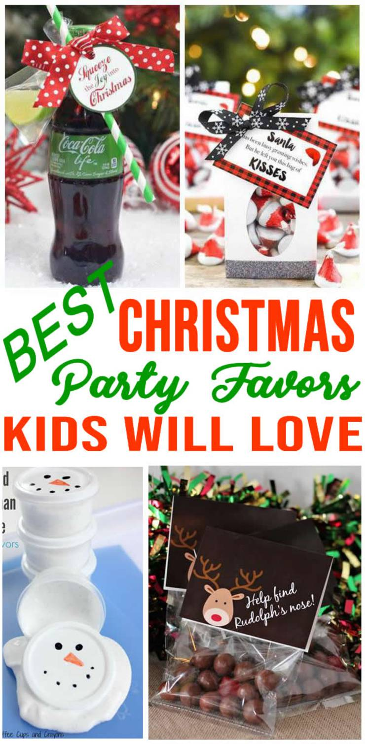 Christmas Party Favors For Kids