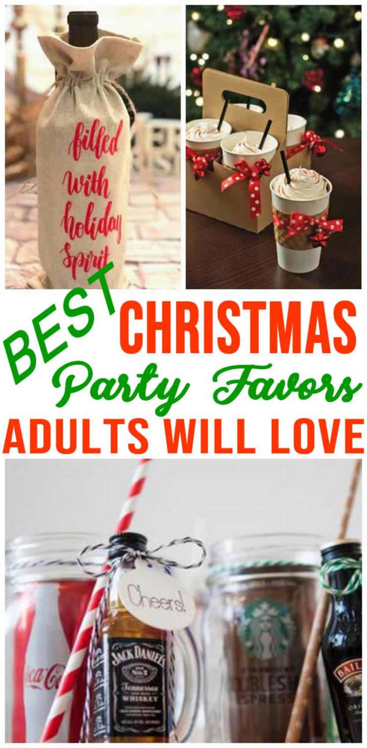 Christmas Party Favors For Adults