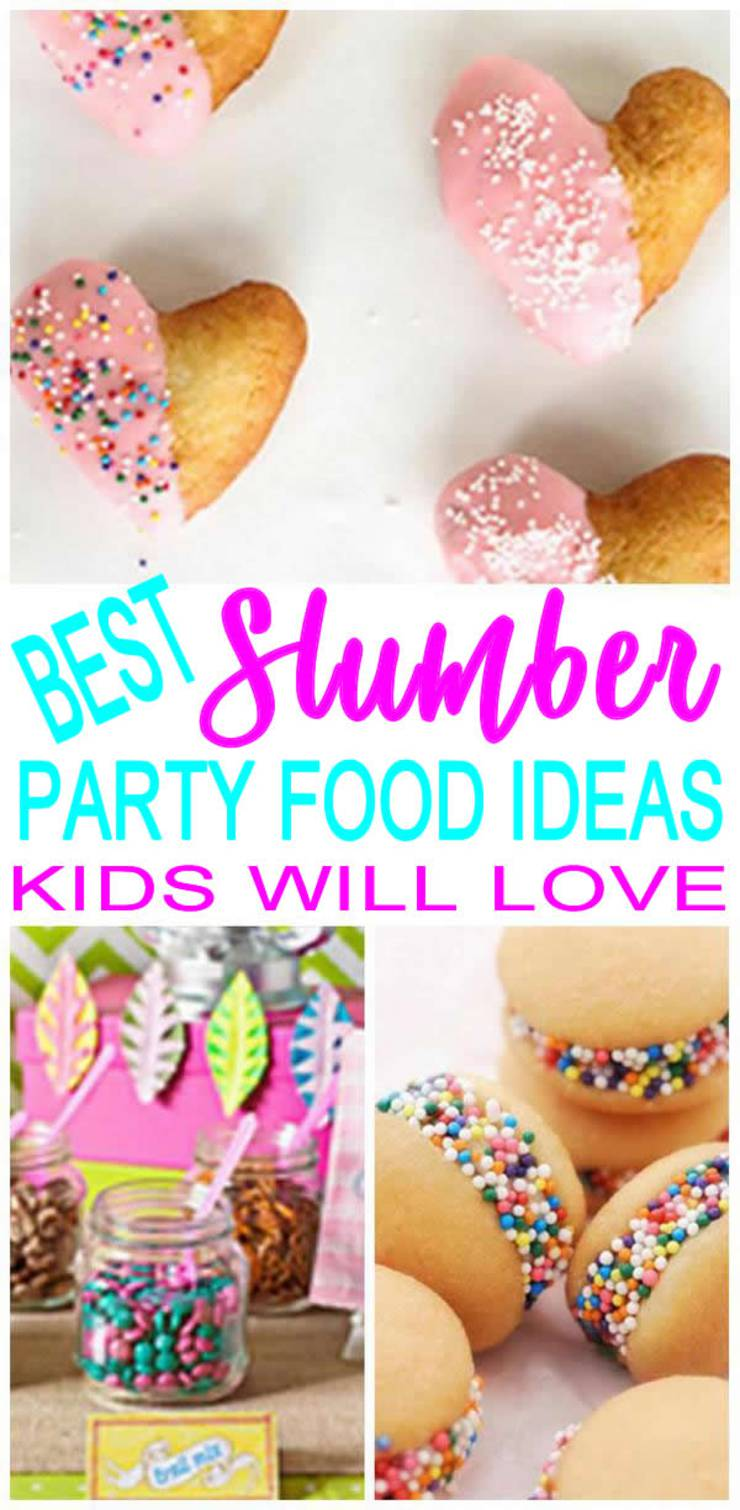 Slumber Party Food Ideas _ Sleepover Birthday Theme