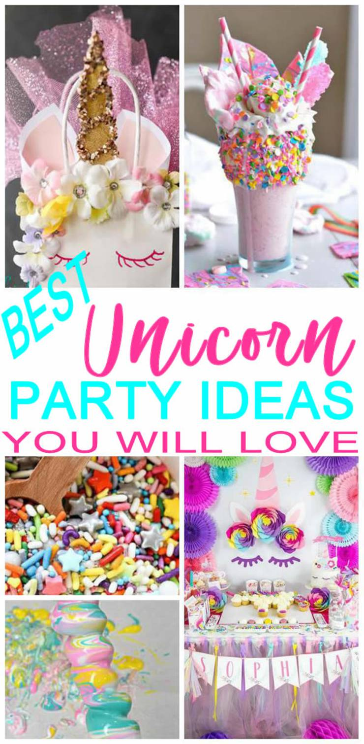 MAGICAL Unicorn Party Ideas! BEST Unicorn Party Decorations - Goodie Bags - Games - Food - DIY - Cake - Dessert Table - Invitations! Party Supplies For Kids & Adults
